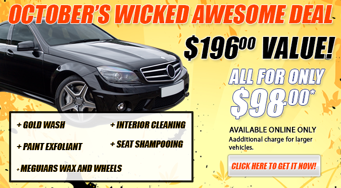 October's Wicked Awesome Deal!
