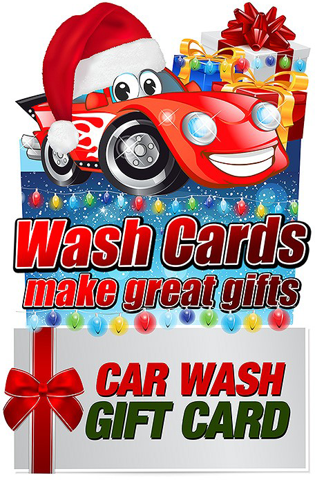 Somerville Car Wash Gift Cards make a great gift that everyone will appreciate!