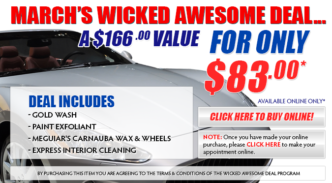 March's Wicked Awesome Deal!