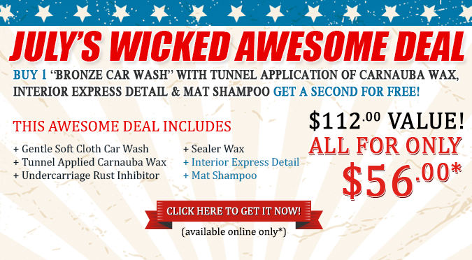 July's Wicked Awesome Deal!