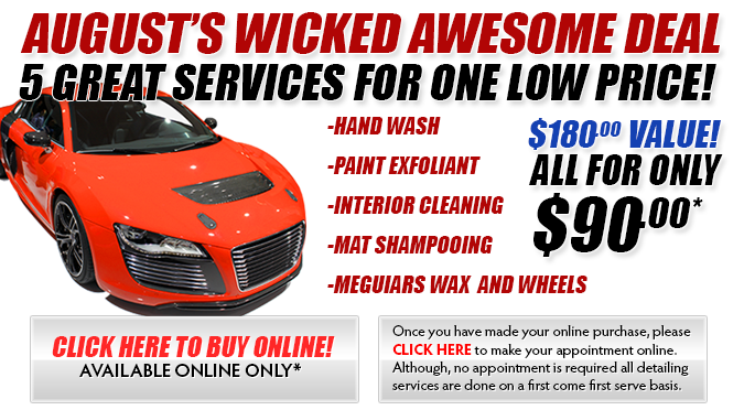 August's Wicked Awesome Deal!