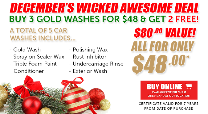 December's Wicked Awesome Deal!